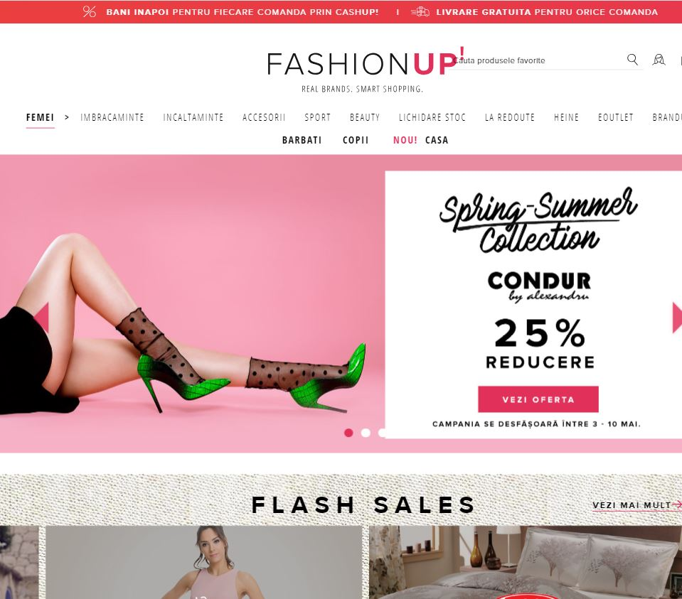fashionup_homepage