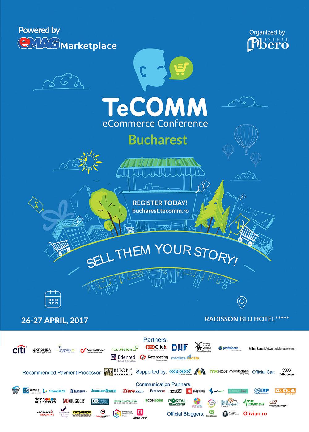 TeCOMM 2017 - Bucuresti