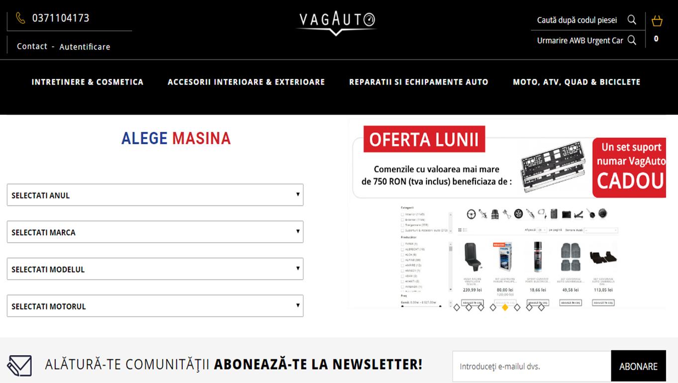 VagAuto Homepage
